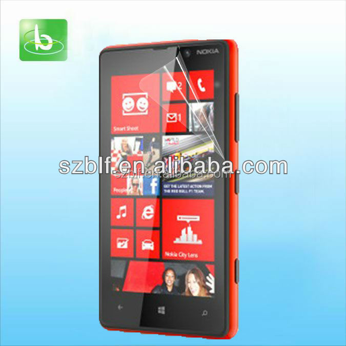 wholesale supplier clear screen guard custom made manufacture price mobile screen guard for nokia lumia 625
