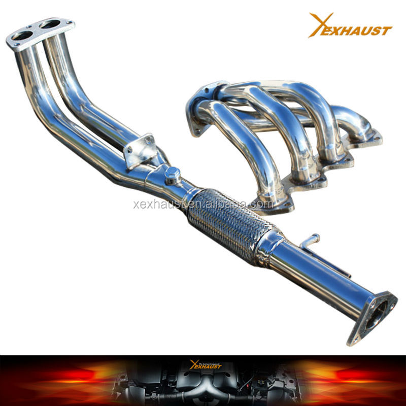 exhaust manifold header for Honda 92-96 Honda Prelude VTEC H22