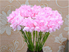 Top- notch artificial carnation flowers red carnation