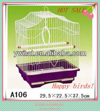 Practical and affordable small wire bird breeding cages, wire cages for bird