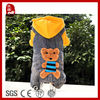Soft Fashion Dog Suspenders Teddy Bear with Hat Dog Winter Clothes