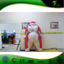 Giant Inflatable Fox , Inflatable Cartoon Sex Animal Fox with Big Boobs , Hongyi Sexy toys
