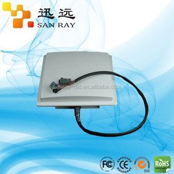 Lightning protection design! Impinj chip uhf rfid reader with 9dBi antenna(Sanray:F5009-H)