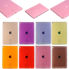 Best Selling Soft Transparent TPU Protective Case for iPad Pro 10.5, 8 Colors Available