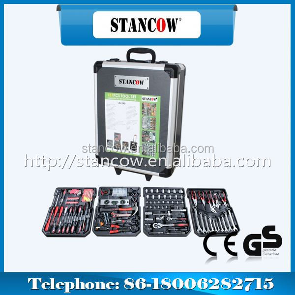 ST-341-186 tool set(home use tools set;Trolley)