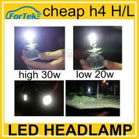 Lowest failure rates!!!Cheap car led lamp 30w 6000lm cree h4 hi lo led headlight