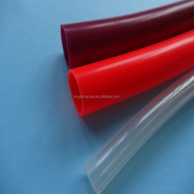 Pure silicone rubber material tubes