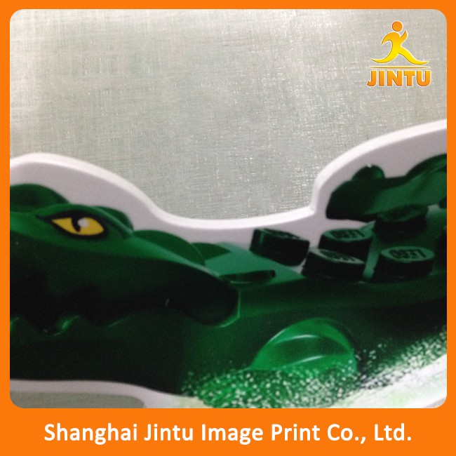 3mm single side shop advertising uv printing pvc foam board