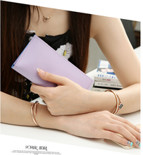 2016 New style unique leather wallet ,women purse, alibaba china