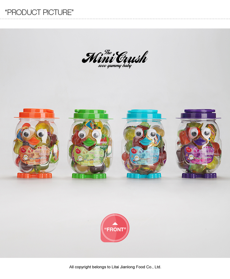 35 pcs Penguin Jar sugar free jelly