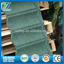 Popular Product Aluminium Zinc Stone Coated Metal Roofing Sizes