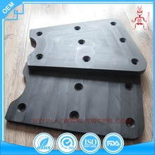 Natural rubber sheet rubber thick chopping board with holes