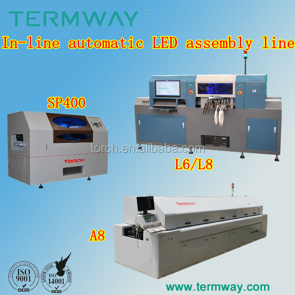 Led tv automatic assembly production line sp400-L6-TN360C