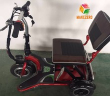 cheap folding convenient small handy man-carried 3 wheel electric bike for toddlers