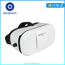 Qulwin 3D BOBO VR Z3 Type ABS Piano Paint Virtual Reality Glasses Target Price Google VR 3D Glasses Fit for IOS/Android