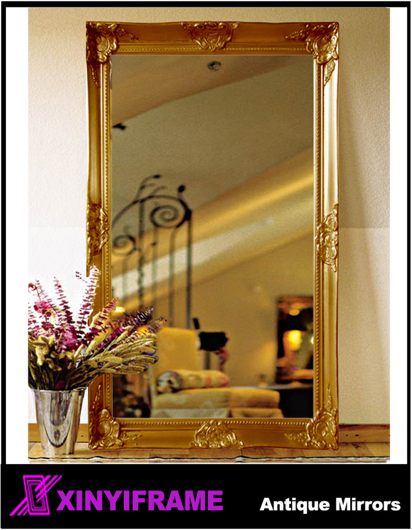 Amazing Decorative Wall Mirrors Wood Frame Composition - Art & Wall ...