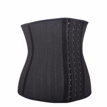 Punching Slimming Body Shaper 25 Steel Boned Women Waist Trainer Cinchers Latex