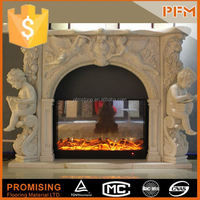 CNC cutting terracotta chimenea fireplace