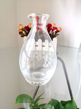 Popular high-end no lead clear glass sake Japanese and Korea type sake bottle 450ml/15OZ(glass factory,have passed EU,FDA,GB)