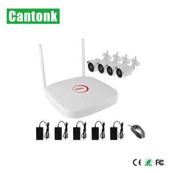 Wireless Wifi IP Camera Kits industrial Security Cameras Without Complex Cable