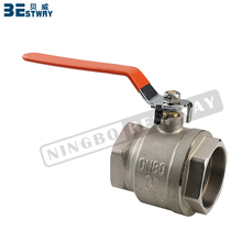 BWVA easy installation short delivery date brass oil ball valve