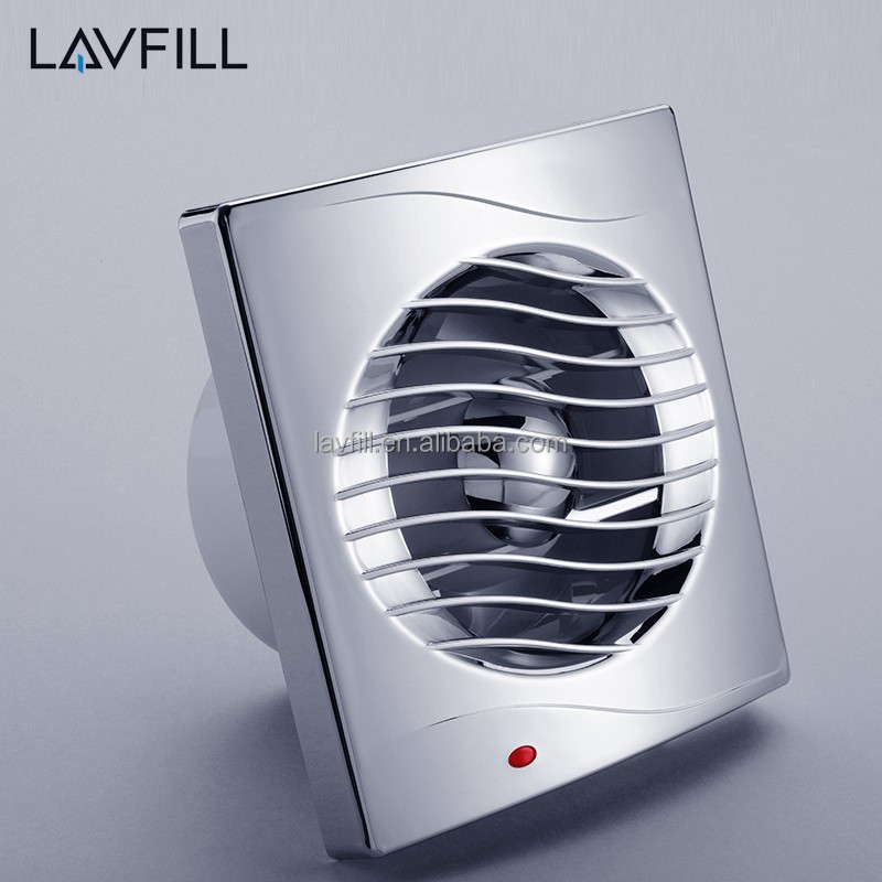 120V Mini Ventilator Home Ventilation Fan Bathroom Plastic Exhaust Fan