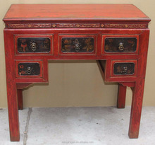 Hand painted console table chinese antique reproduction furniture