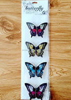 New arrival handmade butterfly 3D sticker for home decoration