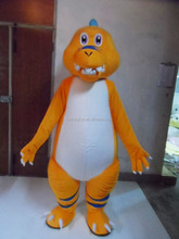 Hot!! high quality CE custom dinosaur mascot costume ,cartoon mascot costumes