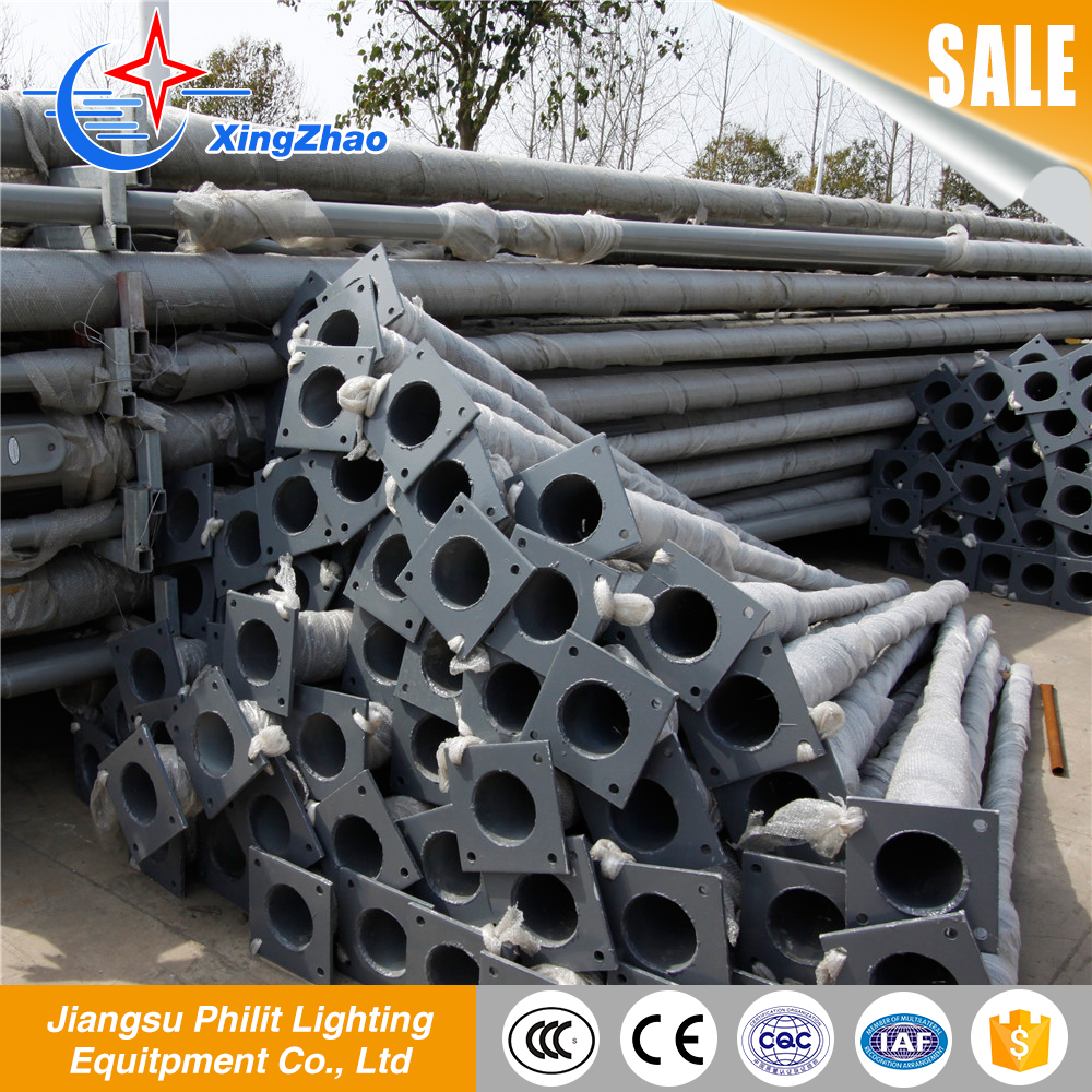 Alibaba china market durable 12 meter street galvanized light pole