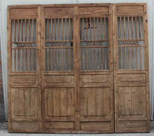 Chinese Antique Wood Carving Folding Screen wooden screen room divider Antique Decorative Screen