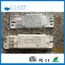 36/40W t5 t8 14w 28w 36w electronic ballast for circular fluorescent lamp