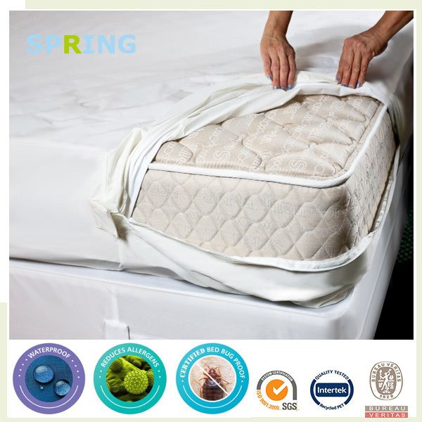 argos waterproof bed bug mattress encasement with zipper - buy