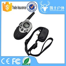 Waterproof rechargeable electronic bark stop shock dog collar for humans