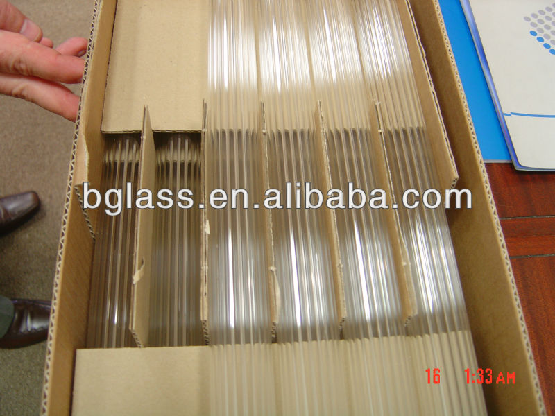 special sizes high borosilicate glass tube 3.3