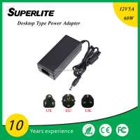High quality Power Adapter 12V 5A for LED Strip Light