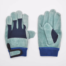 Working Driver leather construction safety Glove