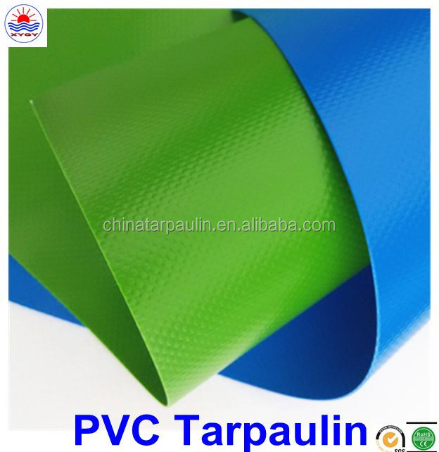 Both Side PVC Coated Fabric Tarpaulin Truck Cover Boat Cover With Grommets