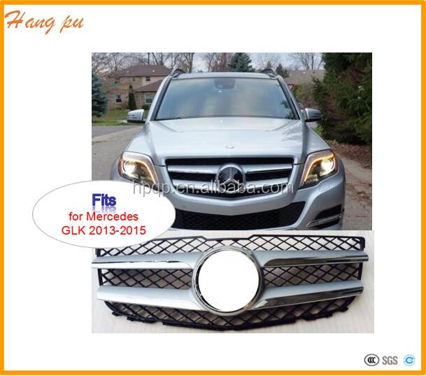 car chrome front radiator grille A204 880 2983 3083 for mercedes GLK250 GLK350 2013 2014 2015