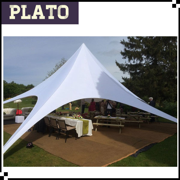 wedding portable lawn tent outdoor activities used party star shade tent for sale
