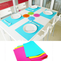 Eco-friendly Anti-slip Silicone Table Mat Dinner Mat Placemat