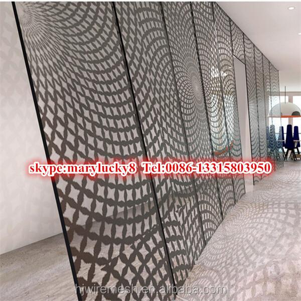 Taglio laser metallo perforato pannelli murali decorativi-Filo di acciaio-Id prodotto ...