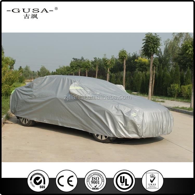 Auto fold hail protection resistant car cover against hail
