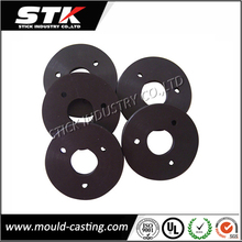 Plastic silicone rubber gasket