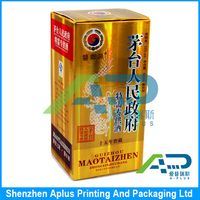 Folding Paper Wine Glass Packaging Box
