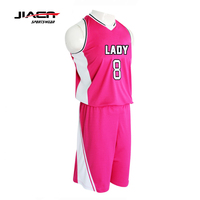 basketball uniforms for qirls youth leagues basketball jersey uniform design color pink