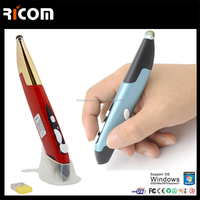 Touch Screen pen mouse,touch mouse pen for drawing,optical pen mouse with touch screen--MW8090A--Shenzhen Ricom