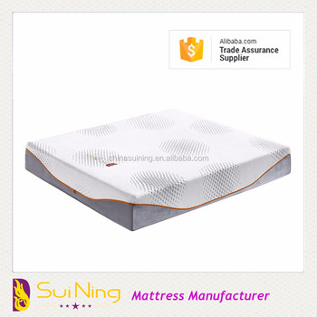 Wholesale queen mattress memory foam cheap sponge mattress