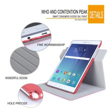 Cheap Price Rotative Multi Functions PU leather Tablet Cases For Samsung Tab A 9.7inch