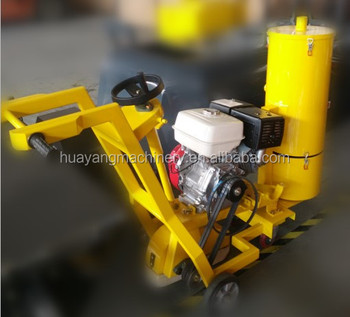 concrete joint sealing machine road grooving machine pothole repair asphalt equipment bitumen road slotting machine